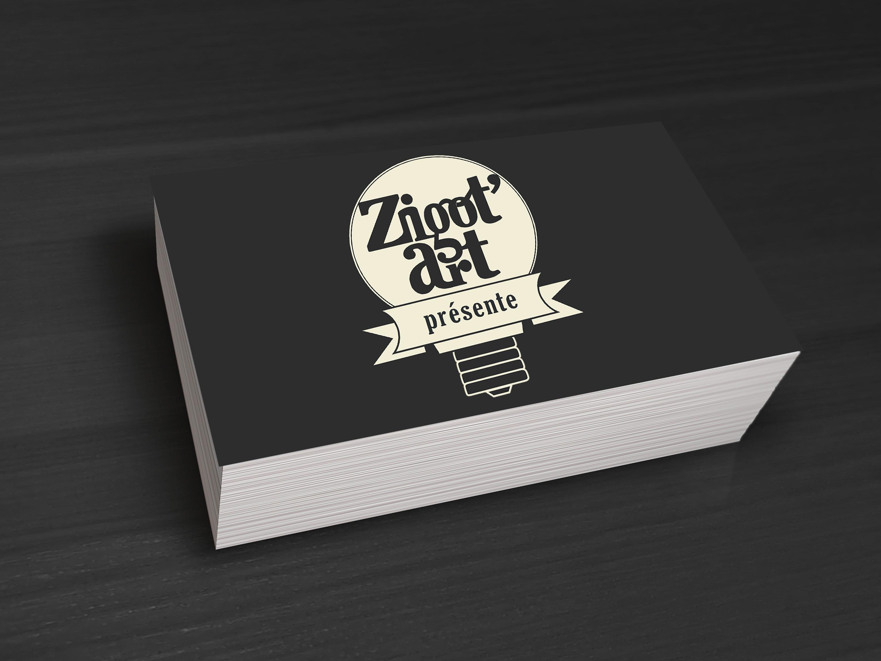 carte de visite Zigot'art